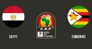 Egypt 1 - 0 Zimbabwe