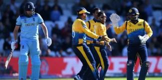 England v Sri Lanka