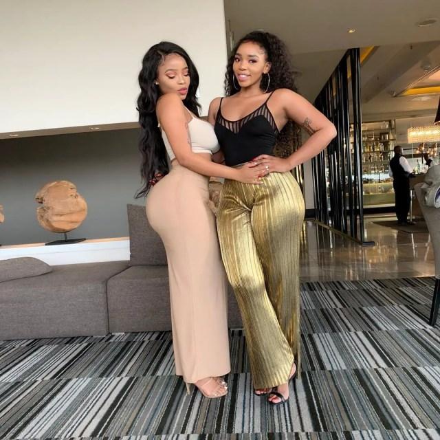 Faith Nketsi and Kim Kholiwe