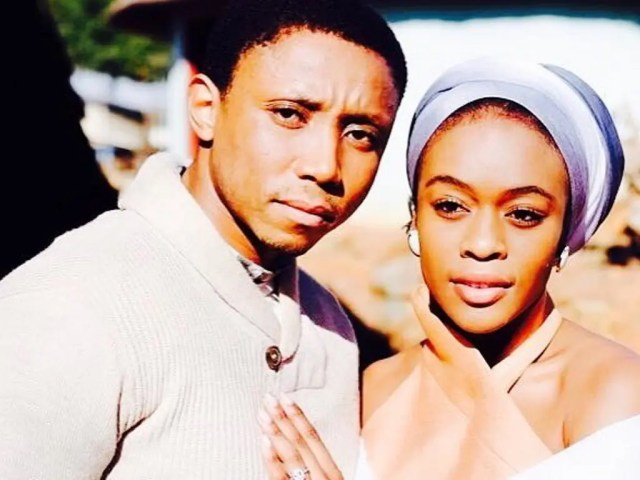 Thandeka Zungu and Sbu