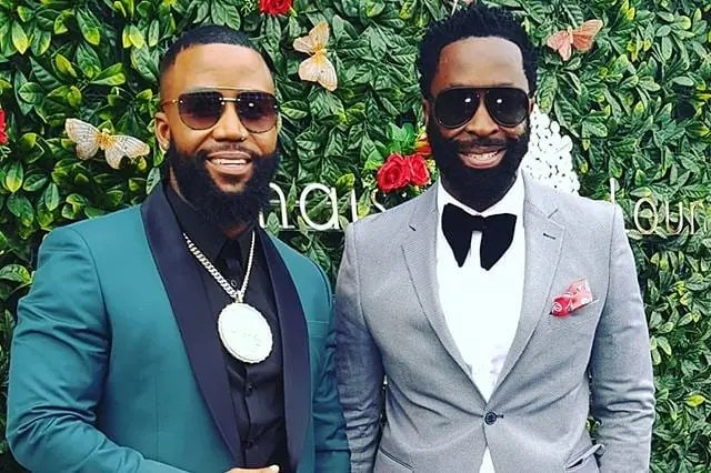 Cassper Nyovest and DJ Sbu