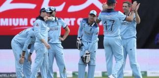 England won by 119 runs