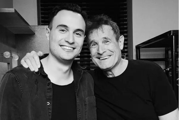 Jesse Clegg and his dad