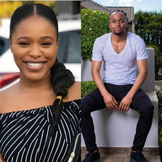 Natasha Thahane and Siphiwe Tshabalala both born on the 25th of September
