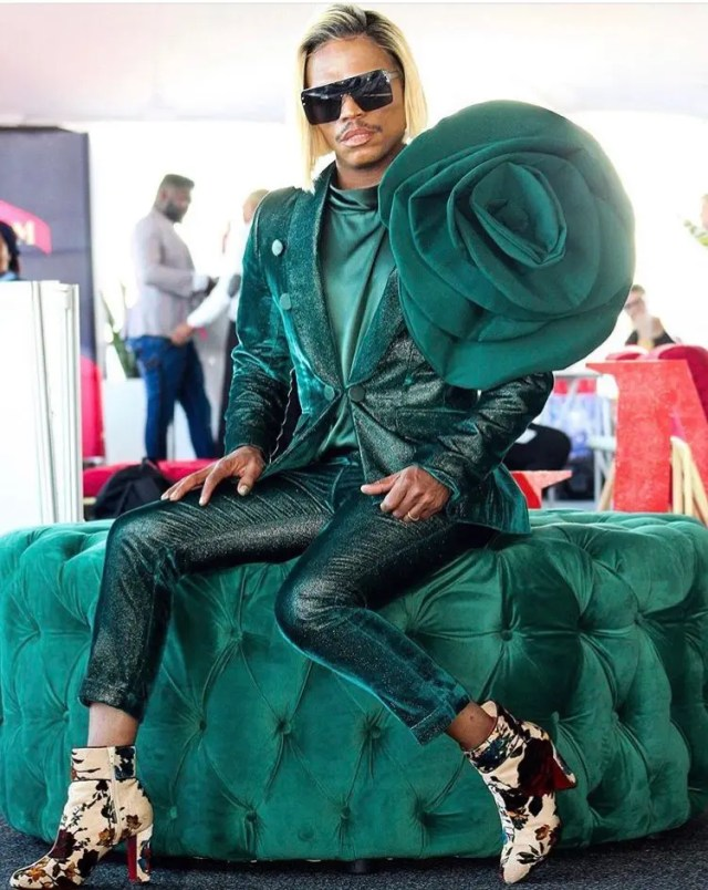 Somizi at Vodacom Durban July