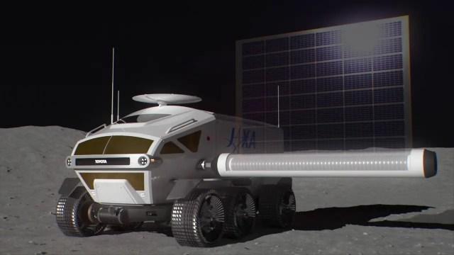Toyota's moon Rover
