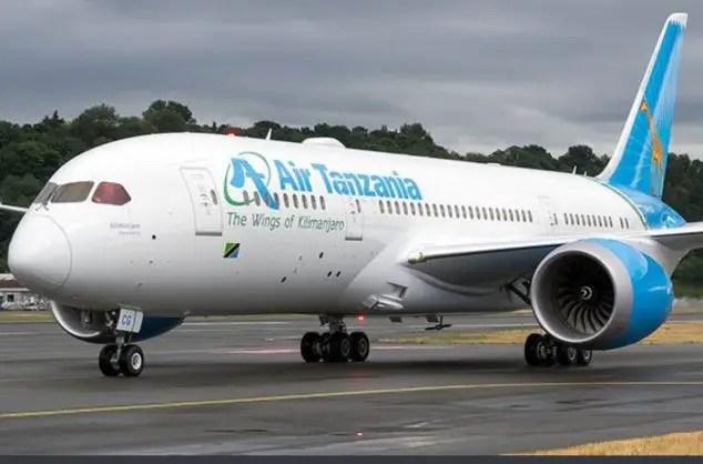 Air Tanzania plane