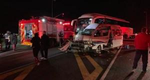 Bloem bus vs taxi crash