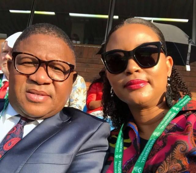 Fikile and Nozuko Mbalula