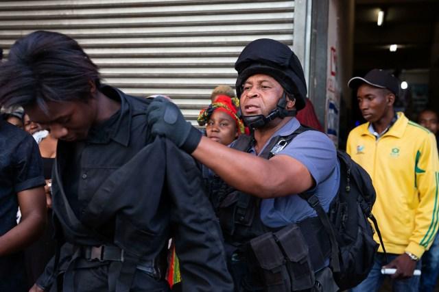Joburg raids