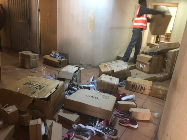 Johannesburg CBD raid