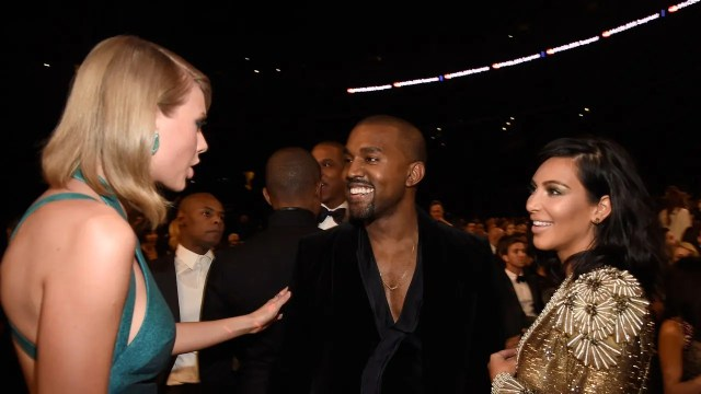 Kanye West and Taylor Swift1