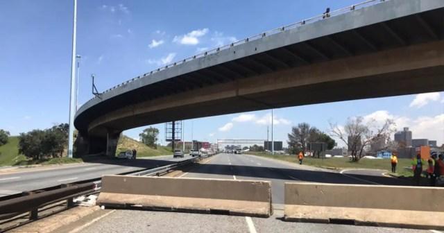 M2 highway in Johannesburg