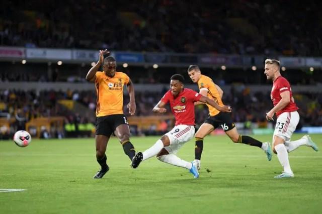 Man Utd 1 - 0 Wolves
