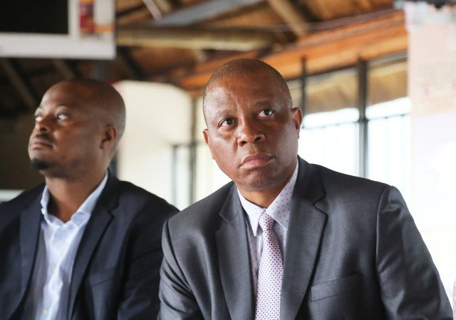 Mayor Herman Mashaba