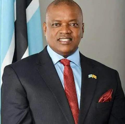 Mokgweetsi Eric Keabetswe Masisi