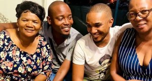 Moshe Ndiki and Phelo Bala mum