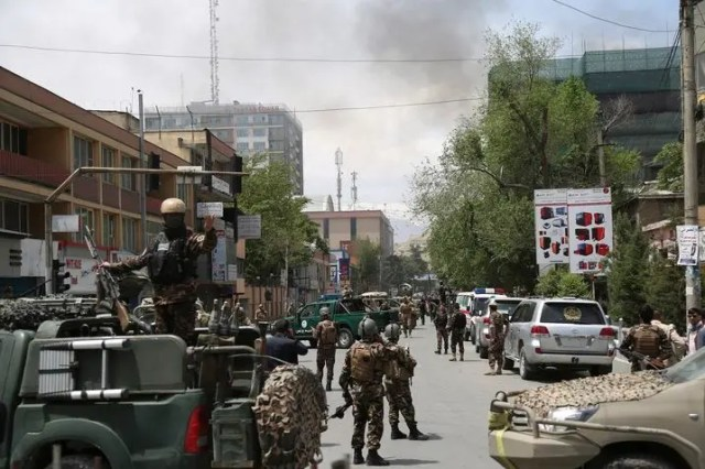 Taliban blast in Kabul
