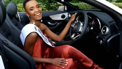 Photo of Miss SA Zozibini Tunzi heads home to Eastern Cape  with her crown
