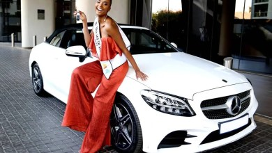 Photo of Miss SA Zozibini Tunzi in her new Mercedes Benz – Pictures
