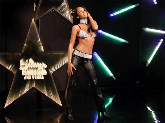 Aaliyah Wax figure