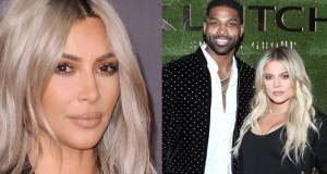 kim kardashian west and Tristan Thompson