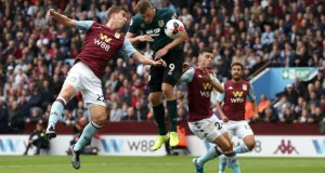 Aston Villa 2 - 2 Burnley