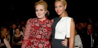 Beyoncé and Adele