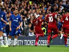 HT: Chelsea 0 - 2 Liverpool