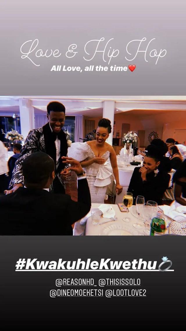 Dineo & Solo Langa's White Wedding