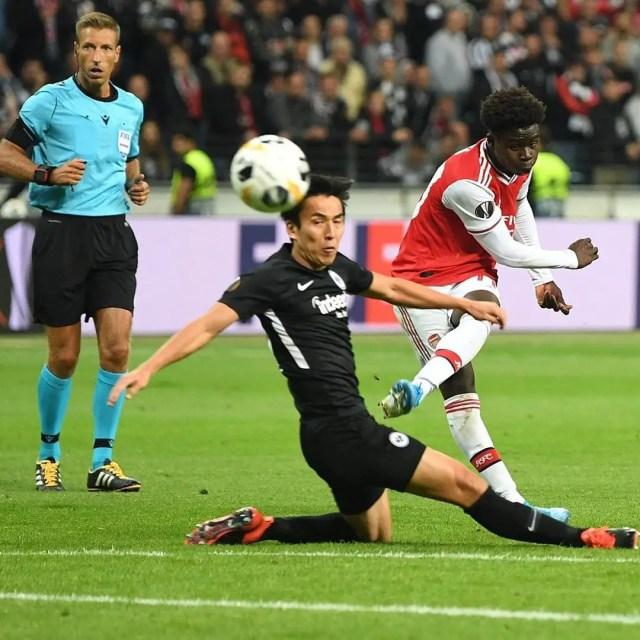 Eintracht Frankfurt 0-3 Arsenal