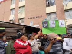 Elsies River residents gather after a mass shooting