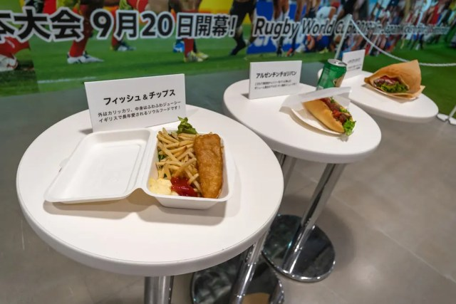 Fans allowed to bring food