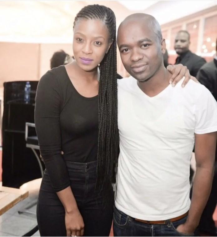 Jessica Nkosi and DJ Franky