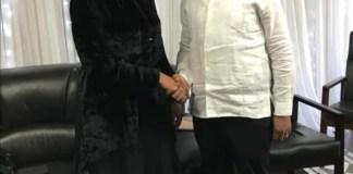 Julius Malema and Grace Mugabe