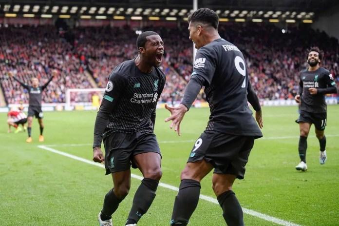 Liverpool 1 - 0 Sheffield United