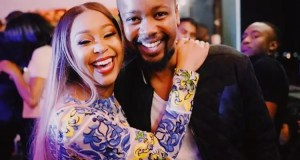 Minnie Dlamini and brother