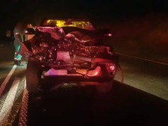 SUV strikes cow on the N2 Umzumbe