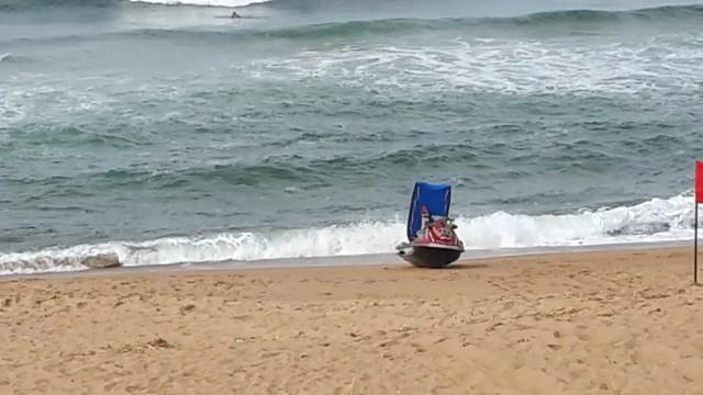 Salt Rock non-swimming beach