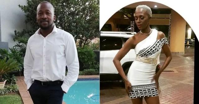 Shoki Mmola and actor Putla Sehlapelo