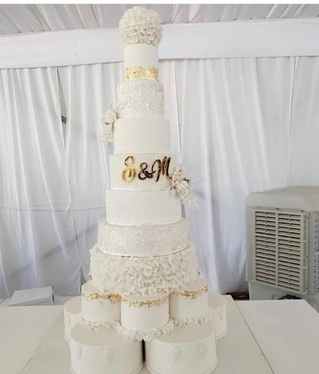 Somizi Wedding Cake