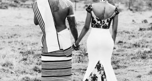 Thabsie and her husband Thando Vokwana