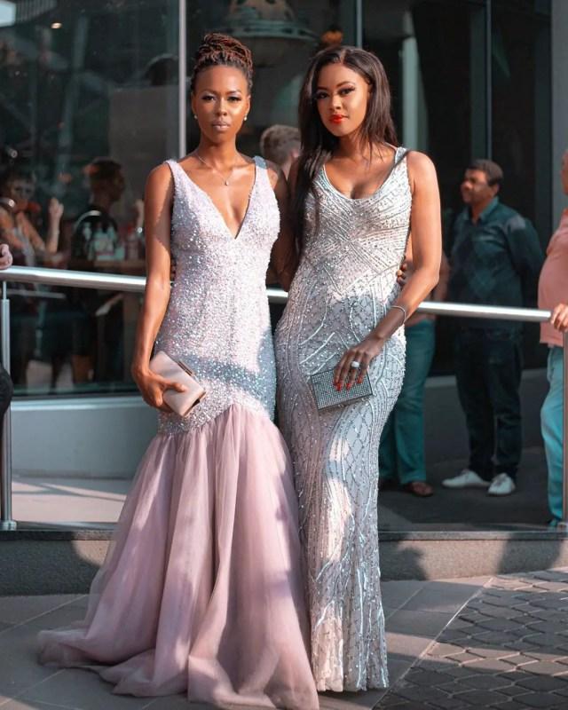 Tshephi Vundla and her sister
