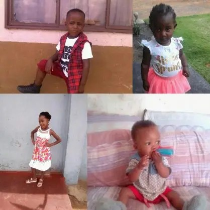 Zinhle Maditla's children