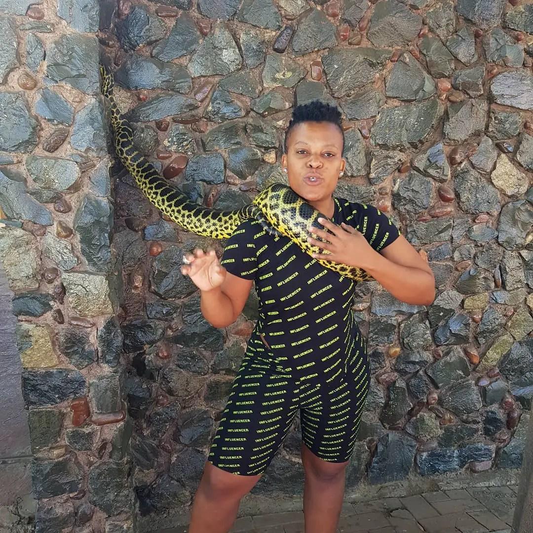 Zodwa Wabantu Snake