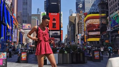 Photo of Miss South Africa, Zozibini Tunzi is not happy in New York