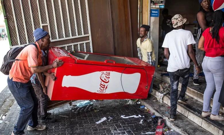 Xenophobic Looting