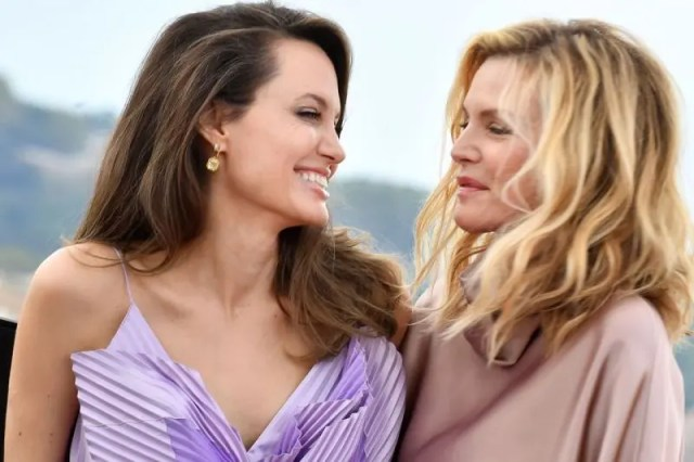 Angelina Jolie and Michelle Pfeiffer