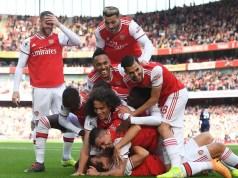 Arsenal 1 - 0 AFC Bournemouth