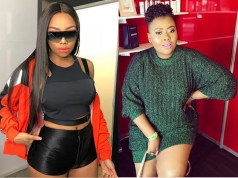 Bonang Matheba and Anele Mdoda
